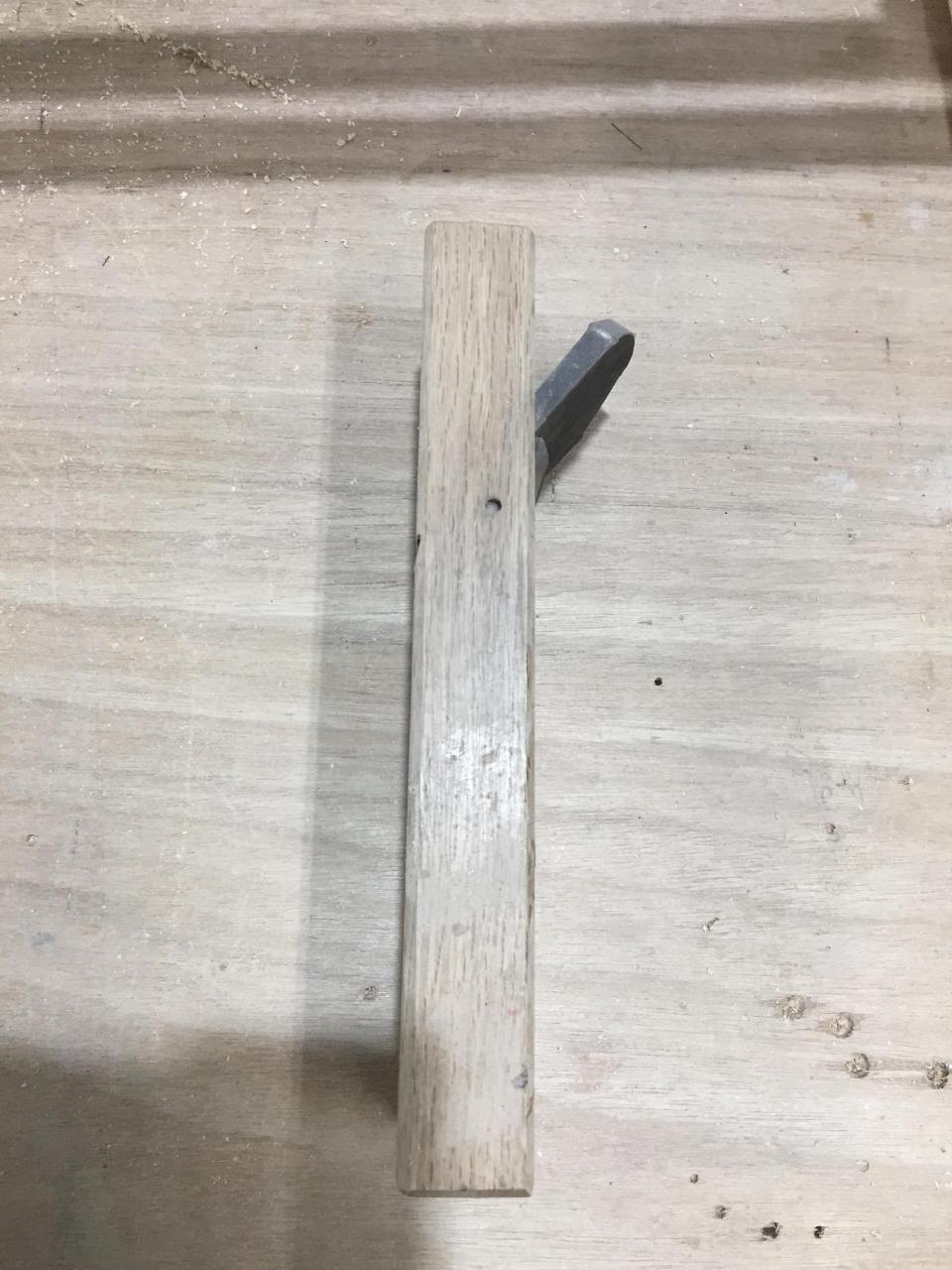 家具作りにかかせない手工具「平鉋」