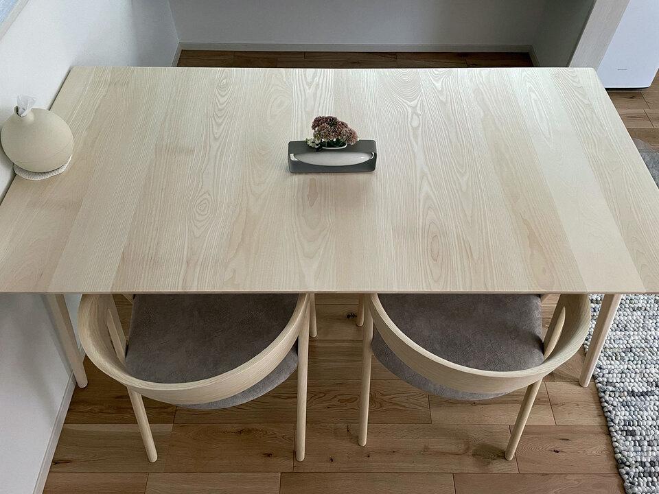 HARPテーブル、ベンチのご利用例:広島県TK様