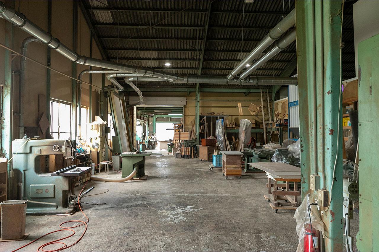 秋山木工 工場